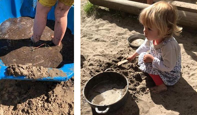 5 peuterspelletjes met modder